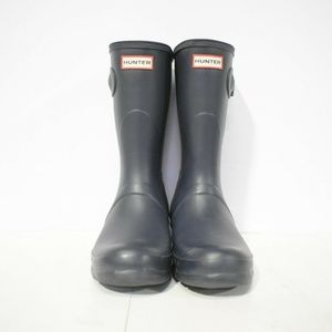 Blue Short Hunter Boots Size 10